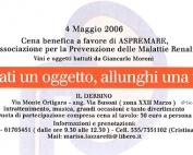 ASPREMARE 2006 Cena Benefica