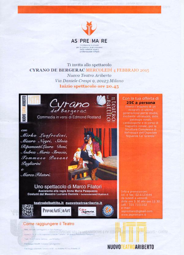 ASPREMARE 2015 Cyrano