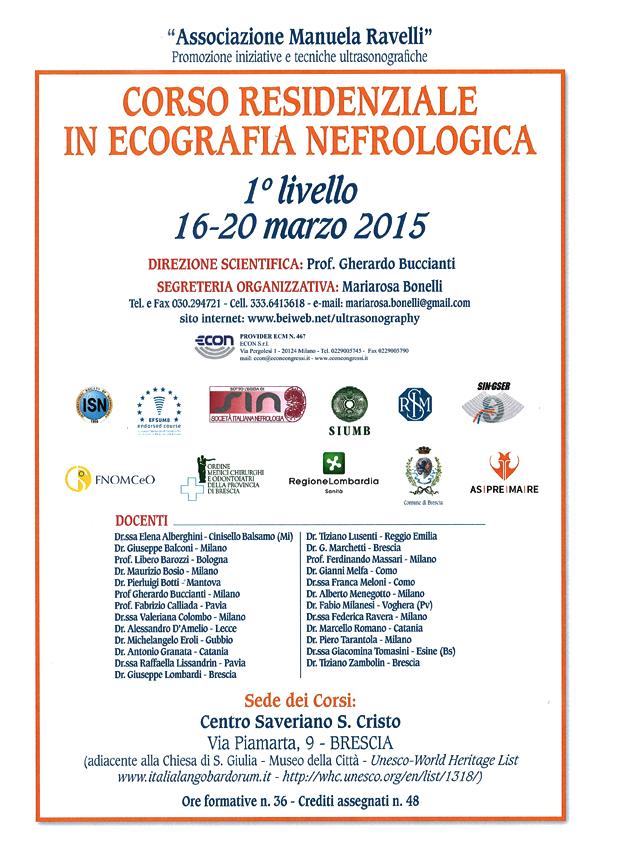 ASPREMARE 2015 Corso Ecografia